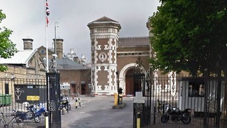 Sufyan Elbakali is accused of thrawing drugs over the wall at Wormwood Scrubs Prison (Pic: Google)