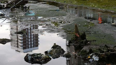 London's hidden junk is revealed in Regent's Canal after being drained ahead of vital quarter of a m