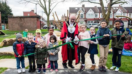 Launch of Love Islington Parks at the reopening for Biddestone Road Open Space at the weekend