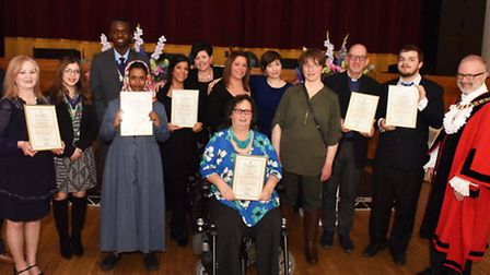 The Mayor of Islington's Civic Awards at Islington Town Hall