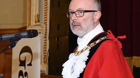 The Mayor of Islington's Civic Awards at Islington Town Hall. Cllr Richard Greening
