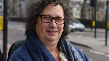 Sandy Marks who has won a Mayor's Civic Award for her work as a disability rights campaigner