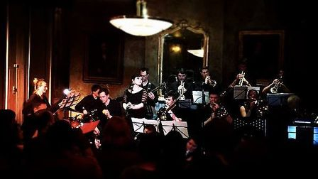 Duke Street Big Band at the Old Queen's Head in Essex Road