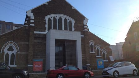 The Courtyard is temporarily being run from St David�s Church in Westbourne Road, Holloway