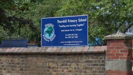 The letter was sent by the head at Thornhill Primary School (Picture: Google StreetView)