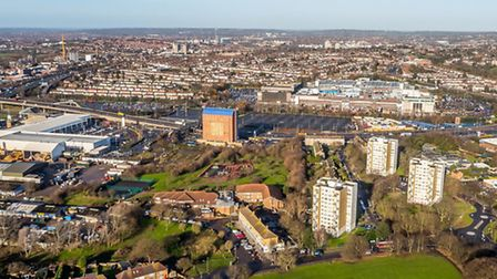 The 180-acre Brent Cross South site