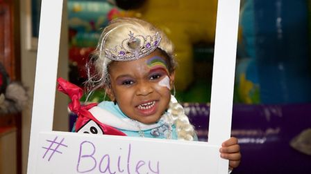 Proceeds from the music night wll go towards helping Bailey Walters-Lawrence,4, have a life-changing