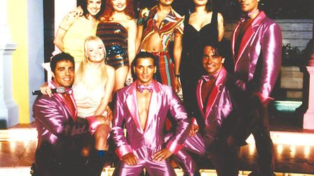 The Dreamboys featured in the Spiceworld film