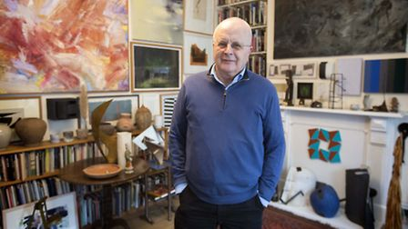 Highbury-based art collector Tim Sayer, a retired BBC Radio 4 newswriter has been passionately colle