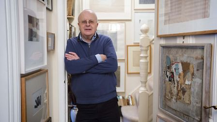 London-based art collector Tim Sayer, a retired BBC Radio 4 newswriter has been passionately collect