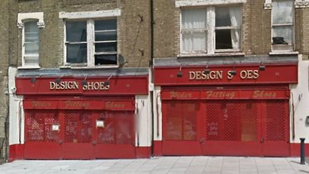 The new hospice will open at the former home of Design Shoes in Harlesden (Pic: Google)