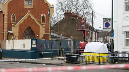 A man has been shot dead in Church Road (Pic: Jonathan Goldberg)