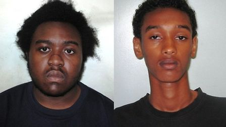 Ennis, left, and Daud were both jailed for life too