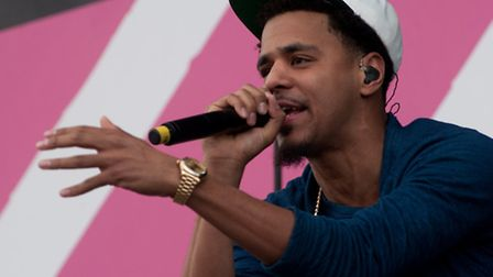 J Cole will return to the Wireless Festival in July (Picture: Dave Burke)