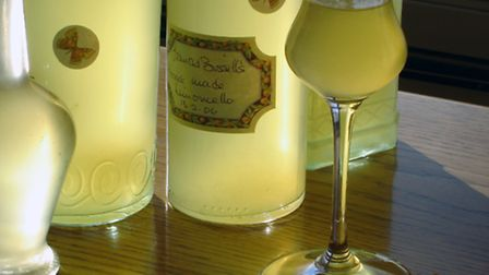 Frances Bissell's homemade limoncello
