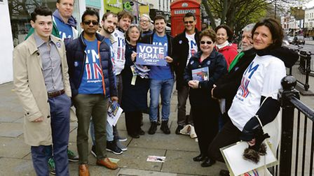 Stronger in campaigners in Islington