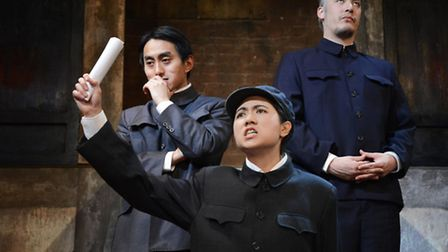 A scene from The Sugar-Coated Bullets Of The Bourgeoisie Writer. Picture: Nobby Clark