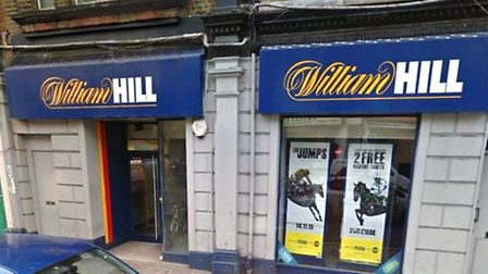 Dennis Delsol brandished a knife outside the Wiiliam Hill in Kensal Green (pic: Google)