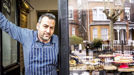 Christian Honor, pictured, is opening a new Chriskitch restaurant in Hoxton. Picture: Mischa Haller