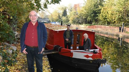 Simon Hodgkinson rents out his canal boat through Vrumi
