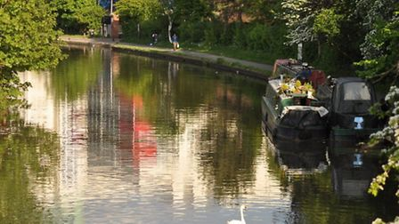 The body parts were found dumped at the Grand Union Canal in Alperton (STOCK IMAGE: Flickr/stevekeir