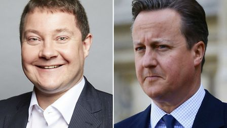 Cllr Andy Hull and Prime Minister David Cameron (Pictures; Islington Council and PA)