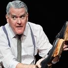 The Man In The Woman's Shoes at The Tricycle Theatre Written and Performed by Mikel Murfi. Picture: