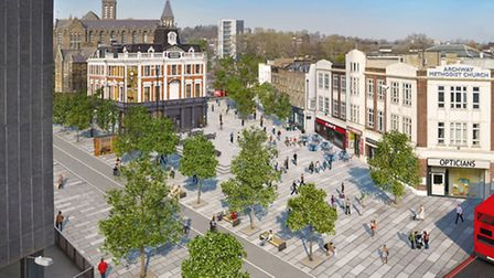 TfL's plans for the Archway Gyratory