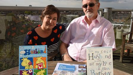 Parkinson's sufferer John Duncan has requested no birthday presents but instead people spend their m