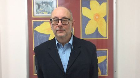 Ian Phillips, chair of governors at Sudbury Primary School