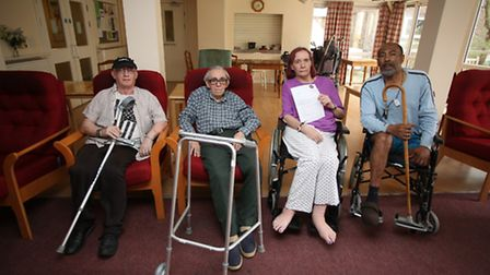 Disabled and elderly residents in sheltered housing at Belmore House have been charged an extra £65