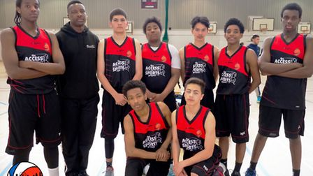 Access2Sports Under-16s are unbeaten in the Community Basketball League
