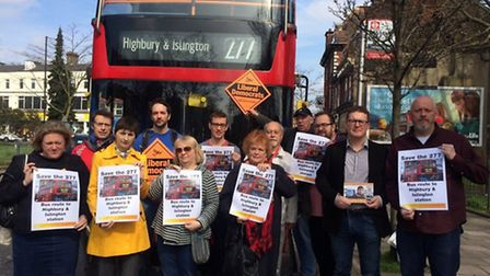 Plans to axe part of the 277 bus route to Highbury Corner have sparked outrage