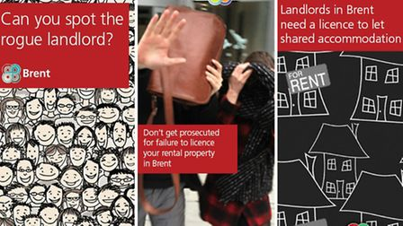 The council's advertising campaign is warning rogue landlords they need to obtain a licence