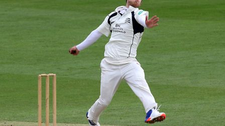 James Harris in action for Middlesex