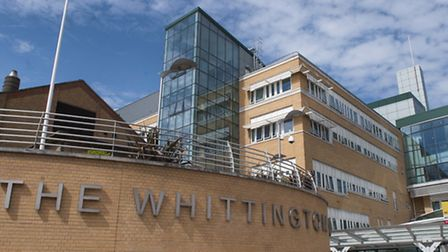 Missed appointments: The Whittington Hospital (Picture: Nigel Sutton)