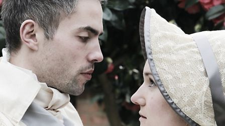 Frederick Wentworth and Anne Elliott in Persuasion at the Rosemary Branch Theatre