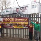 Kilburn Park School Foundation staff and pupils are celebrating an Ofsted upgrading to Good