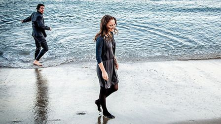 Natalie Portman and Christian Bale star in Knight of Cups. Picture: Melinda Sue Gordon
