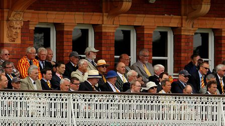 Marylebone Cricket Club members look on during an England test match (Picture: Stephen Pond/Empics)