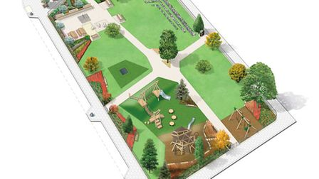 The Woodhouse Urban Park, located off Albert Road, in South Kilburn officially opening on Saturday