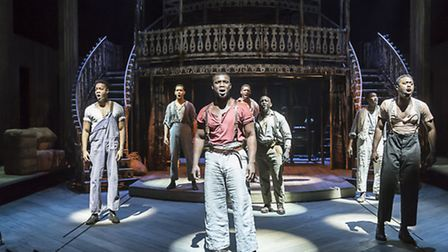 The cast of Show Boat. Picture: Johan Persson