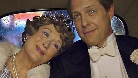 Meryl Streep and Hugh Grant in Florence Foster Jenkins. Picture: Nick Wall