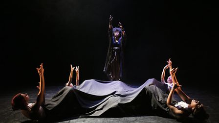 House of Absolute in the Lilian Baylis Studio at Breakin' Convention 2016. Picture: Paul Hampartsoum