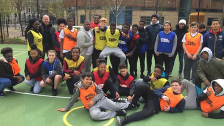 Year nine students from Deptford Green School travelled to Highbury Grove School to understand a dif