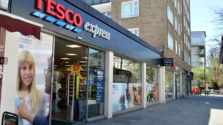 The boy was stopped in this Tesco branch in Maida Vale (Pic: Polly Hancock)