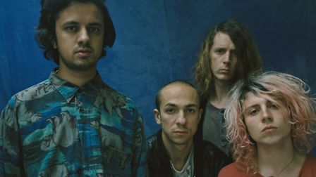 The Mystery Jets. Picture: Tom Beard