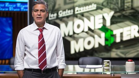 George Clooney stars as Lee Gates in MONEY MONSTER. Picture: Atsushi Nishijima/Sony Pictures Enterta