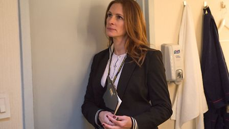 Julia Roberts stars as Patty Fenn in MONEY MONSTER. Picture: Atsushi Nishijima/Sony Pictures Enterta