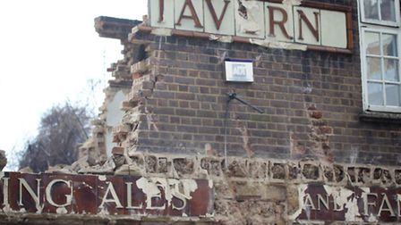 The owners have been ordered to build it back 'brick-by-brick'